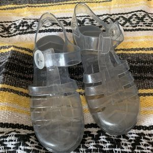 American Apparel Jelly Shoes